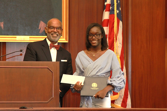 Constitution Day - Chief Judge Gregory & Rebecca Thompson